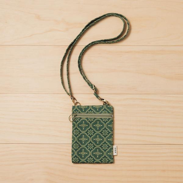 散步隨身包/玻璃海棠/古董草綠 隨身包, 側背包, 斜背包