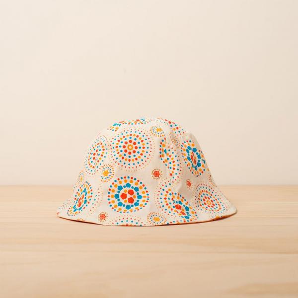 花瓣帽-兒童/煙火/輕快白日 兒童遮陽帽, 兒童帽, 花瓣帽