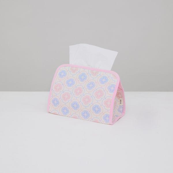 小屋面紙套/玻璃海棠3號/溫馨粉 面紙套,面紙盒