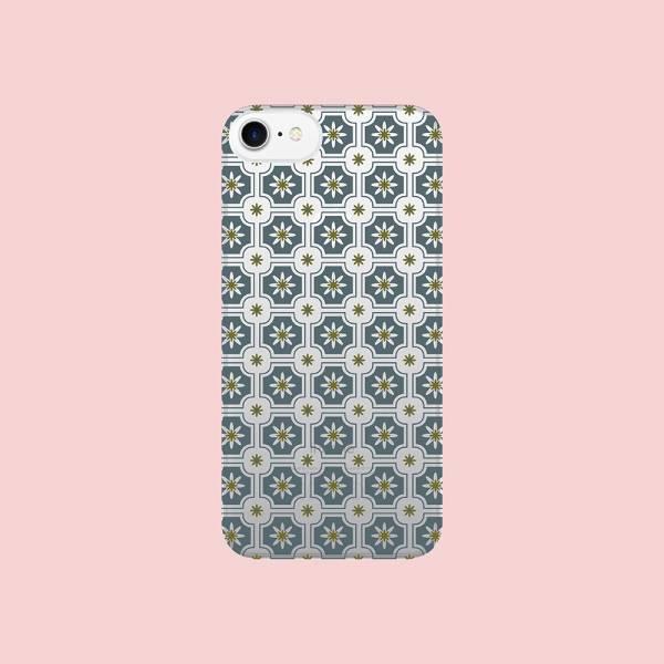 【現貨】印花樂X犀牛盾NX背板-iPhone XS Max/老磁磚2號/背蓋藍灰 手機殼, 手機套, 犀牛盾, iPhone 手機殼, iPhone 12