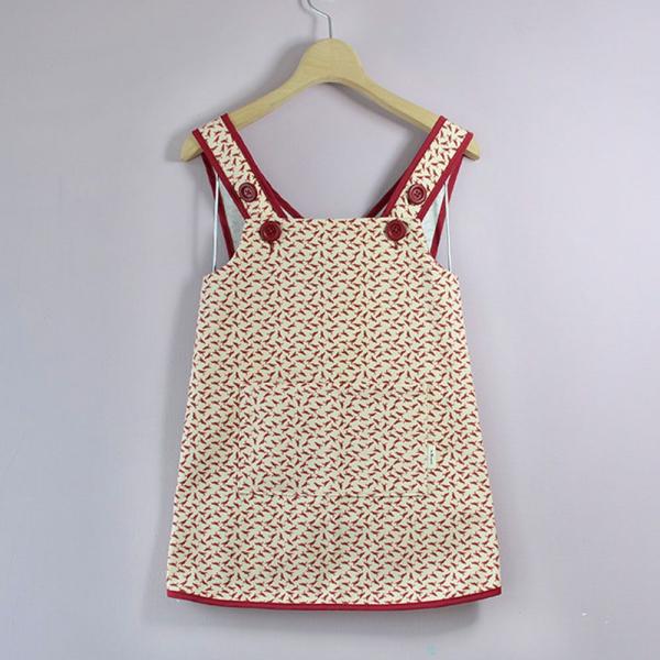 兒童圍裙-130/台灣八哥4號/地質粉紅 圍裙