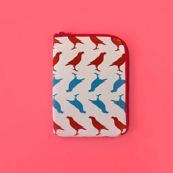iPad Mini收納包/台灣八哥5號/古宅紅粉 平板保護殼, 平板保護袋, iPad收納袋