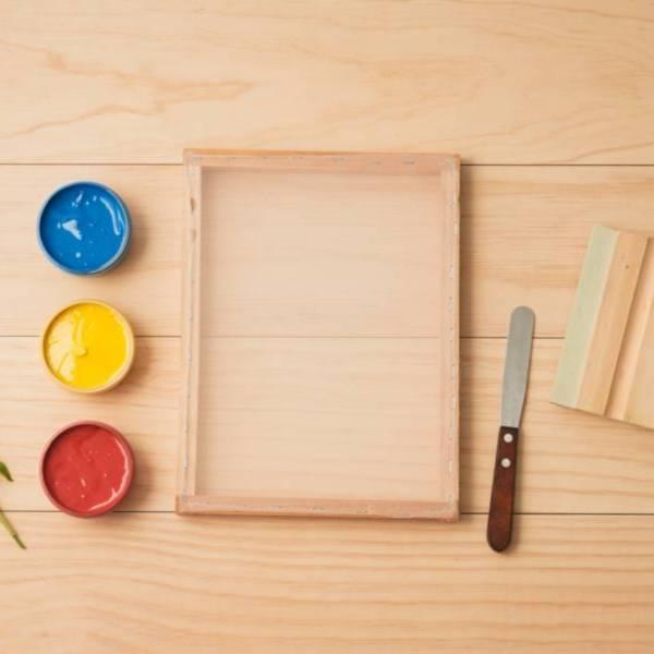 絹印基礎工具組 絹印工具,絹印材料,絹印
