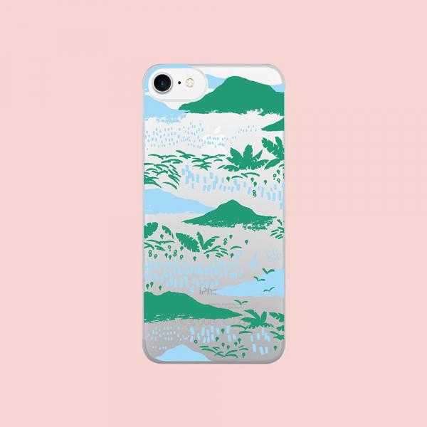 【預購】犀牛盾MOD NX背板/雜花/背蓋透明縱谷藍 手機殼, 手機套, 犀牛盾, iPhone 手機殼