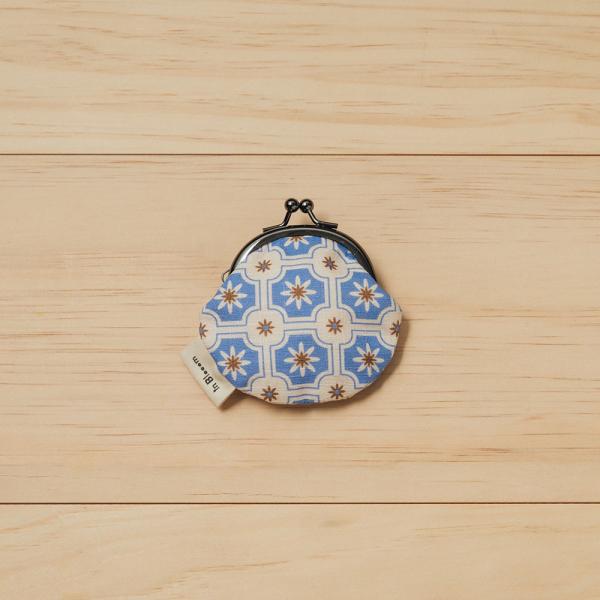 和風零錢小口金包/老磁磚2號/繡球花紫 口金包, 零錢包