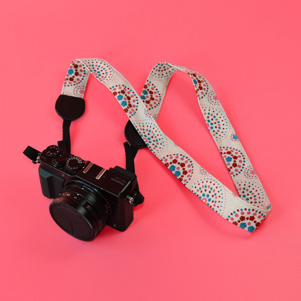相機揹帶/煙火/絢爛粉紅 相機背帶