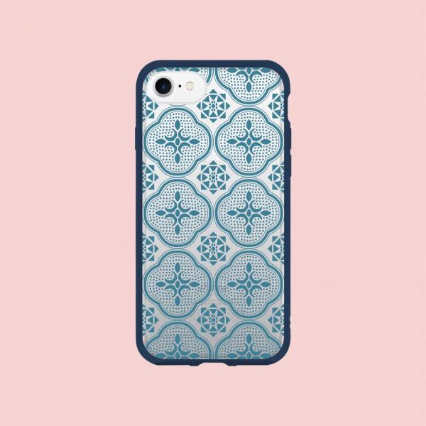 【預購】犀牛盾MOD NX手機殼/玻璃海棠/背蓋透明藍 手機殼, 手機套, 犀牛盾, iPhone 手機殼