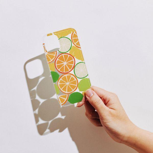 【現貨/含iPhone12】印花樂X犀牛盾NX背板-限定花色/切片果果/橘黃色 手機殼, 手機套, 犀牛盾, iPhone 手機殼