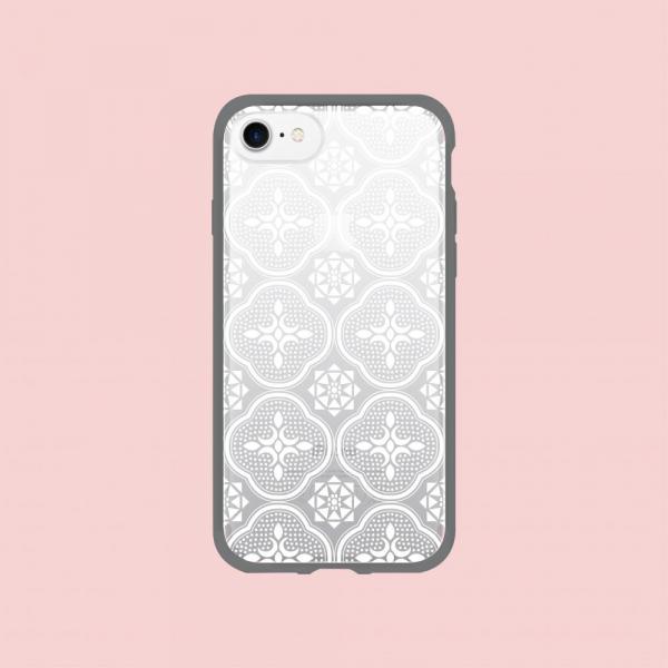 【預購】犀牛盾MOD NX手機殼/玻璃海棠/背蓋透明白 手機殼, 手機套, 犀牛盾, iPhone 手機殼