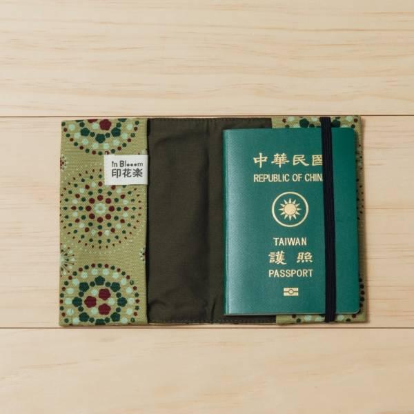 護照書衣/煙火/橄欖灰綠 護照套, 書衣