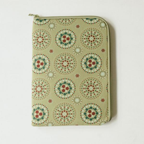10.5吋 iPad收納包/煙火/橄欖灰綠 平板保護殼, 平板保護袋, iPad收納袋
