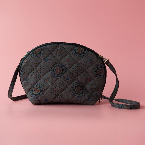 菠蘿側背小包/煙火/夜空灰色 隨身包, 側背包