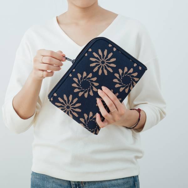 iPad Mini收納包/烏秋圈圈/海軍藍色 平板保護殼, 平板保護袋, iPad收納袋