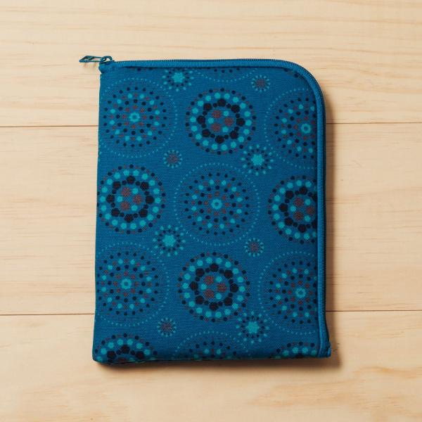 iPad Mini收納包/煙火/星夜藍色 平板保護殼, 平板保護袋, iPad收納袋