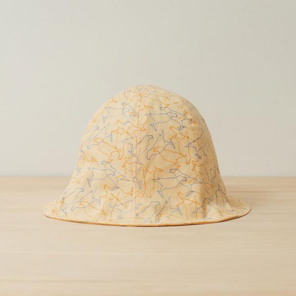 花瓣帽/台灣八哥/蛋黃色 遮陽帽, 花瓣帽