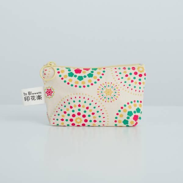 小東西拉鏈包/煙火/糖果黃色 2019,零錢包,雜物包,煙火