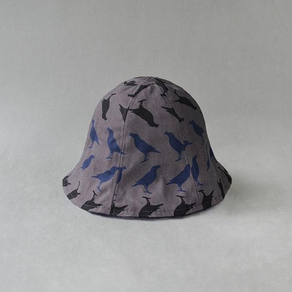花瓣帽/台灣八哥5號/工匠灰黑 遮陽帽, 花瓣帽