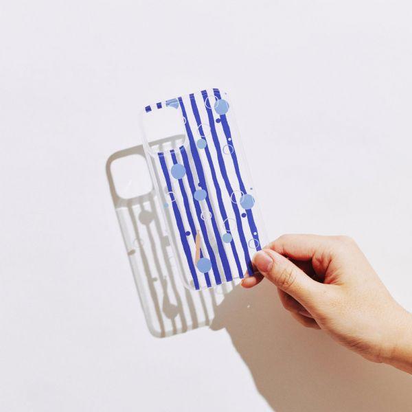 【現貨/含iPhone12】印花樂X犀牛盾NX背板-碎冰泡泡/清涼藍白 手機殼, 手機套, 犀牛盾, iPhone 手機殼,戀夏冰果室 #冰果室 #復古印花