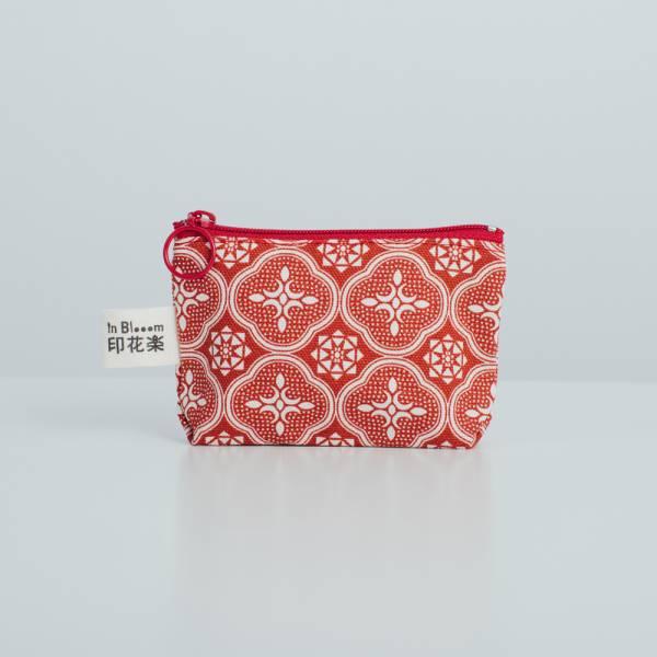 小東西拉鏈包/玻璃海棠/名伶深紅 2019,零錢包,雜物包,玻璃海棠