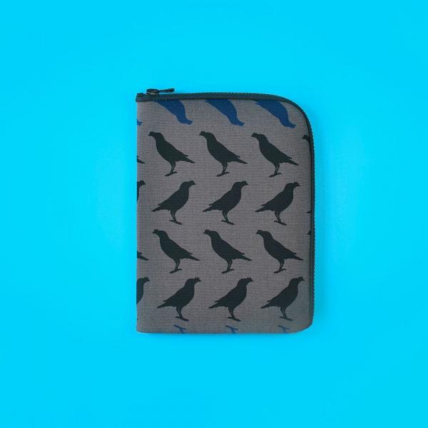 iPad Mini收納包/台灣八哥5號/工匠灰黑 平板保護殼, 平板保護袋, iPad收納袋