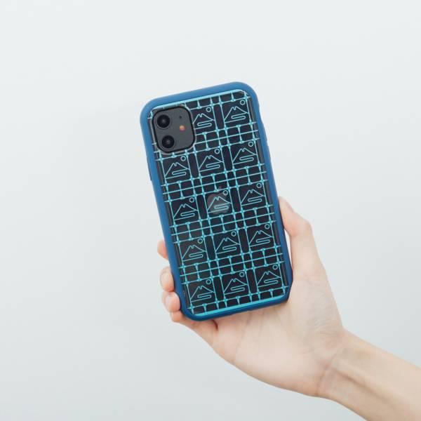 【現貨/含iPhone12】印花樂X犀牛盾NX邊框背蓋兩用殼/鐵花窗/富士山藍色 手機殼, 手機套, 犀牛盾, iPhone 手機殼, iPhone 12