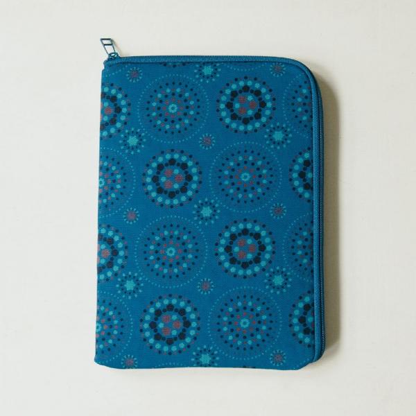 10.5吋 iPad收納包/煙火/星夜藍色 平板保護殼, 平板保護袋, iPad收納袋