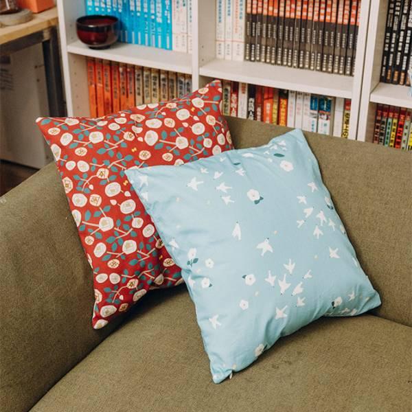 享受生活訂製組【拉鍊式抱枕套x2+簡式餐墊x2+雙面杯墊x2】 訂製,門簾,抱枕套,提袋,水壺提袋