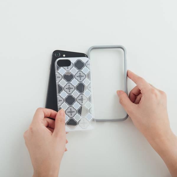 【現貨/含iPhone12】印花樂X犀牛盾NX背板-iPhone/玻璃海棠/輕盈白 手機殼, 手機套, 犀牛盾, iPhone 手機殼, iPhone 12