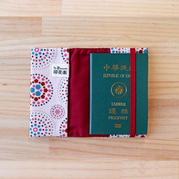 護照書衣/煙火/絢爛粉紅 護照套, 書衣
