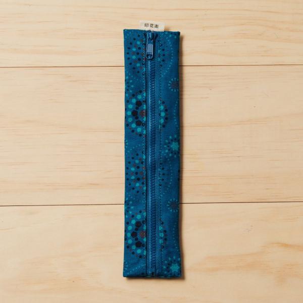 拉鍊餐具袋(含餐具)/煙火/星夜藍色 餐具袋
