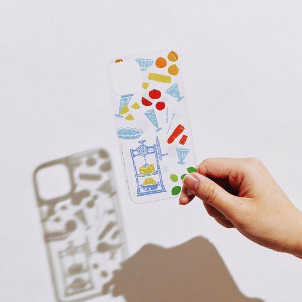 【預購】印花樂X犀牛盾NX背板-限定花色/剉冰小皿/果粉色 手機殼, 手機套, 犀牛盾, iPhone 手機殼,戀夏冰果室 #冰果室 #復古印花