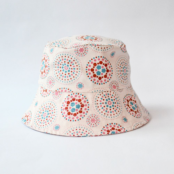 遮陽漁夫帽/煙火/絢爛粉紅 遮陽帽, 漁夫帽