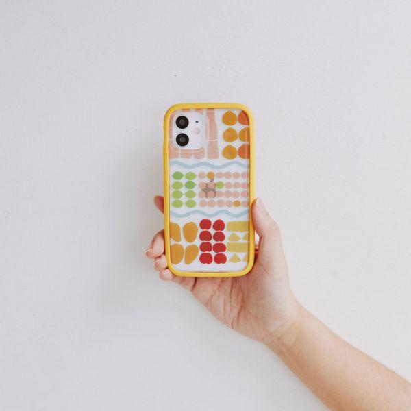 【現貨/含iPhone12】印花樂X犀牛盾NX邊框背蓋兩用殼-老派冰果室/水果粉 手機殼, 手機套, 犀牛盾, iPhone 手機殼,戀夏冰果室 #冰果室 #復古印花