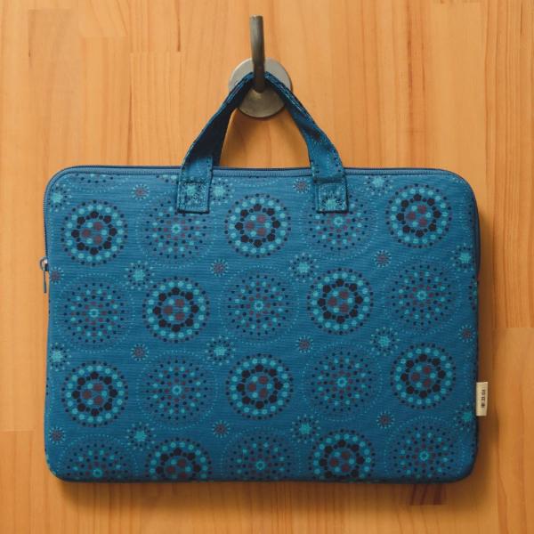 13吋筆電收納包/煙火/星夜藍色 筆電包, 筆電袋