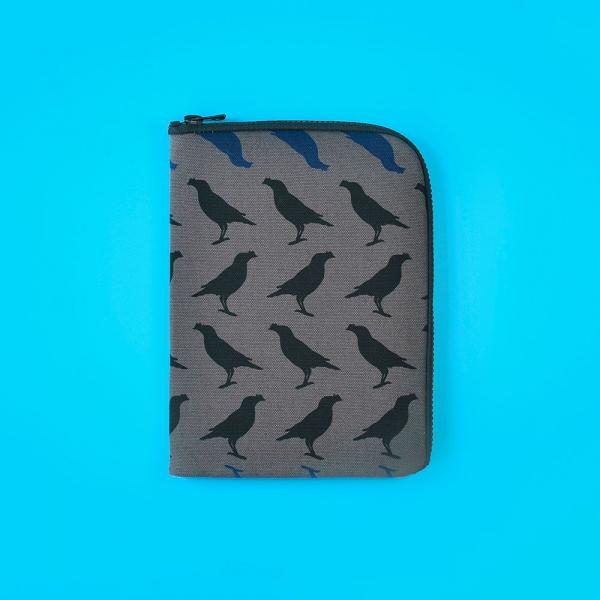 iPad收納包/台灣八哥5號/工匠灰黑 平板保護殼, 平板保護袋, iPad收納袋