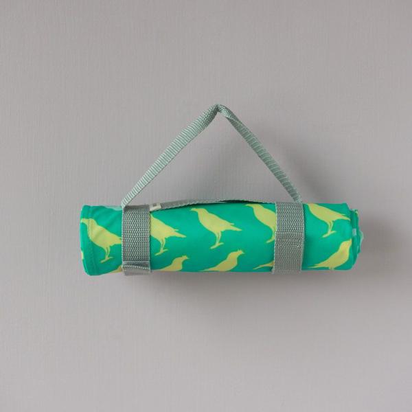 防水野餐墊-二人/台灣八哥5號/樂園綠色 野餐墊, 防水野餐墊