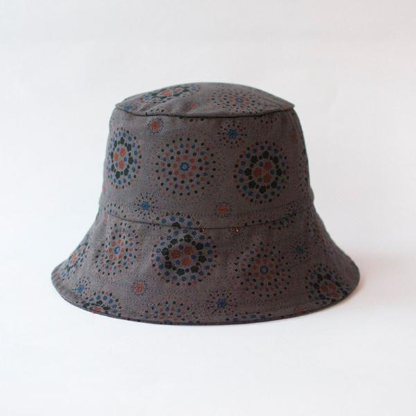 遮陽漁夫帽/煙火/夜空灰色 遮陽帽, 漁夫帽