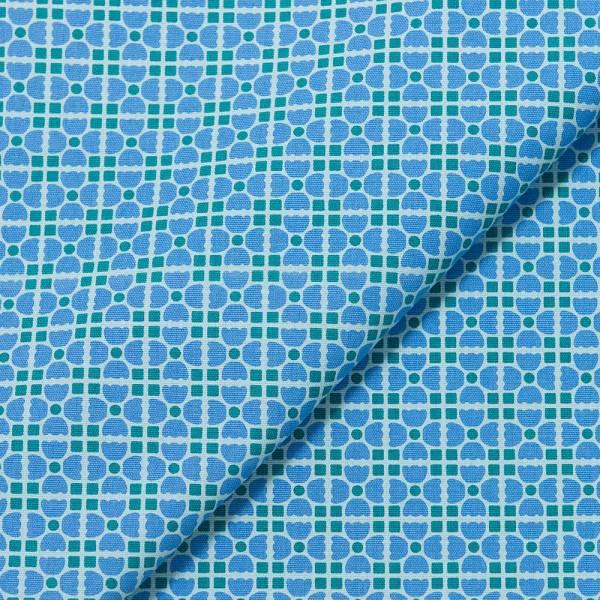 手印棉帆布-寬幅500g/y/老磁磚4號/古著藍紫 布料, 棉帆布