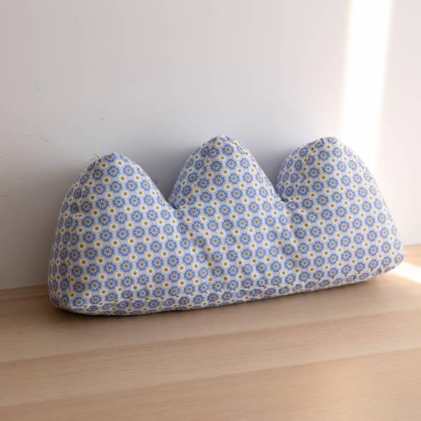 山形抱枕/老磁磚2號/繡球花紫 抱枕,靠枕,靠墊