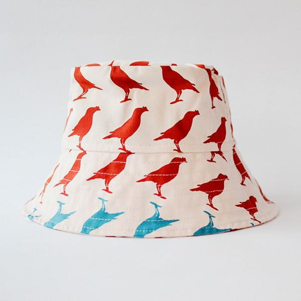 遮陽漁夫帽/台灣八哥5號/古宅紅粉 遮陽帽, 漁夫帽
