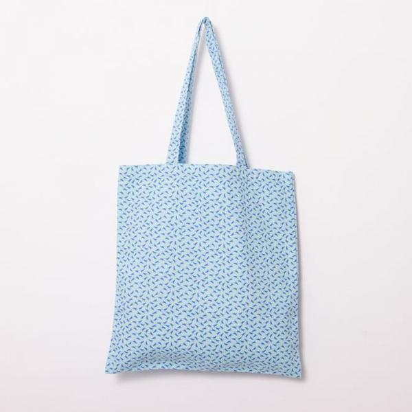 簡單購物袋/海之印象/台灣八哥4號/蔚藍色 拖特包, 肩背包