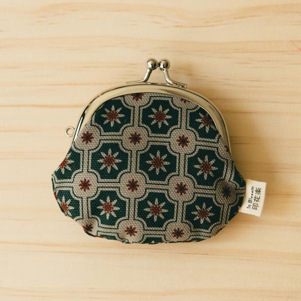 3.3吋口金零錢包/老磁磚2號/島嶼邊際/花園灰綠 口金包, 零錢包