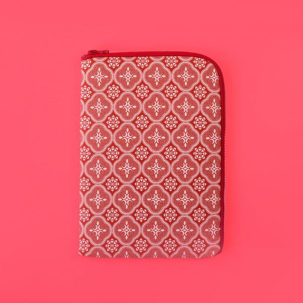 iPad收納包/玻璃海棠/名伶深紅 平板保護殼, 平板保護袋, iPad收納袋