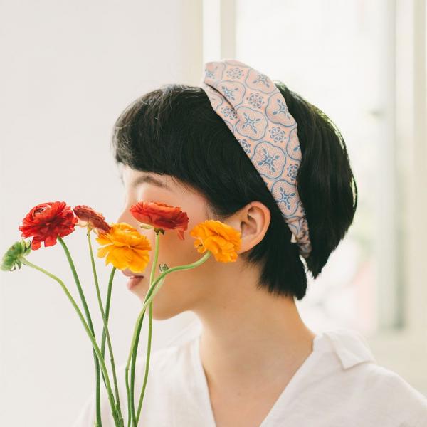造型髮帶/玻璃海棠/橘粉藍綠 髮帶, 配件, 髮飾, 髮箍