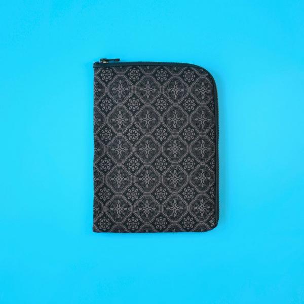 iPad Mini收納包/玻璃海棠/紳士黑色 平板保護殼, 平板保護袋, iPad收納袋