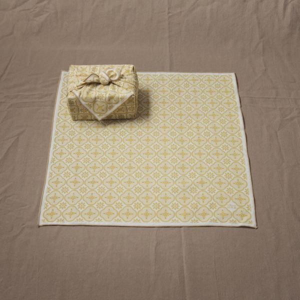 包布巾/玻璃海棠/蜂蜜棕色 布巾, 包巾, 手帕
