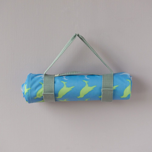 防水野餐墊-二人/台灣八哥5號/奇幻藍色 野餐墊, 防水野餐墊