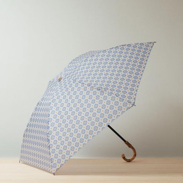 【花粉熱】小彎竹柄輕便折傘/老磁磚2號/繡球花紫 晴雨兩用傘, 雨傘, 洋傘, 折疊傘