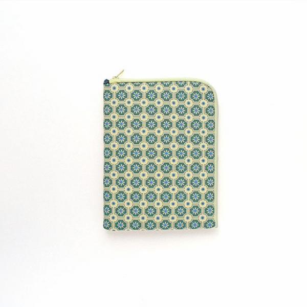iPad Mini收納包/老磁磚2號/海之印象/米黃灰綠 平板保護殼, 平板保護袋, iPad收納袋