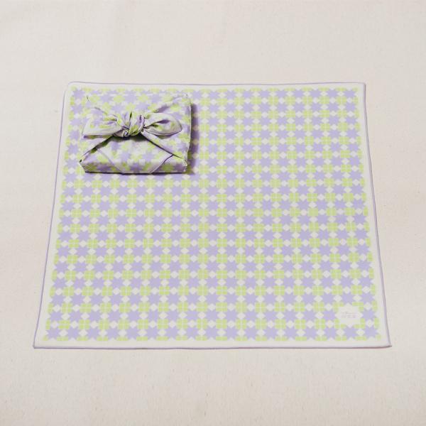 包布巾/老磁磚/星芒紫綠 布巾, 包巾, 手帕